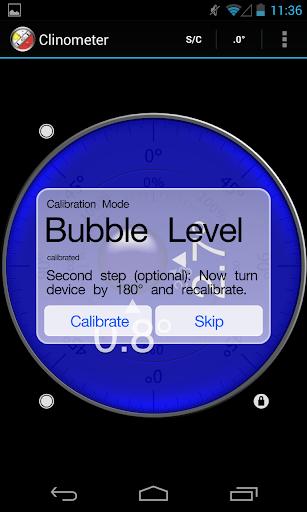Clinometer + nivel de burbuja para Android