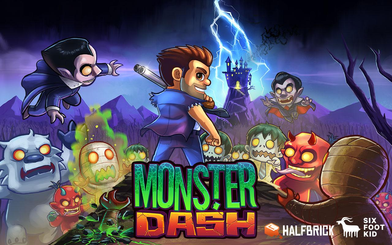 Monster Dash: captura de pantalla