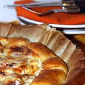 Stracchino Cheese and Artichoke Quiche
