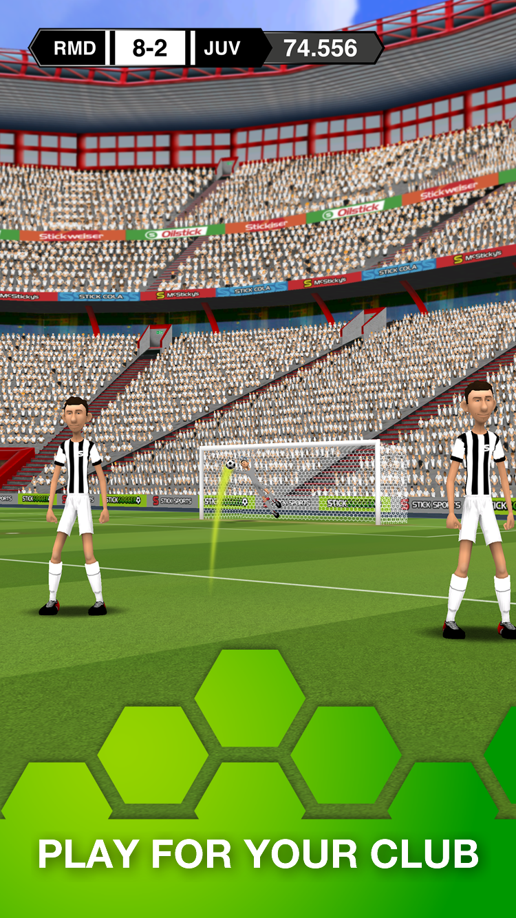 Stick Soccer screenshot #3