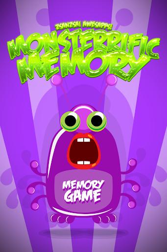 Monsterrific Memory Game