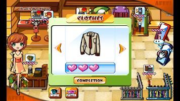 Screenshot of Jean's Boutique Friends