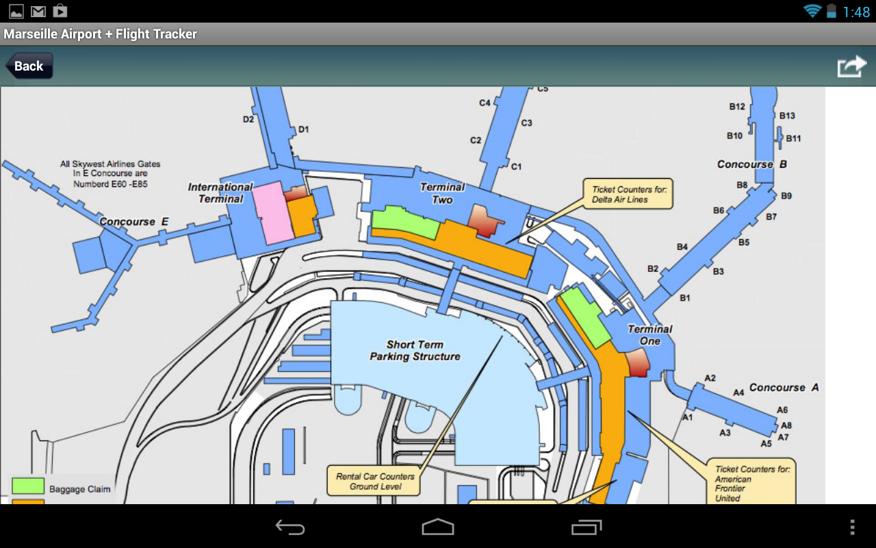 Salt Lake City Airport SLC Android Apps On Google Play - Us map salt lake city