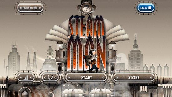 Steam man Capture d'écran