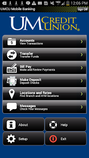 UMCU Mobile Banking - screenshot thumbnail