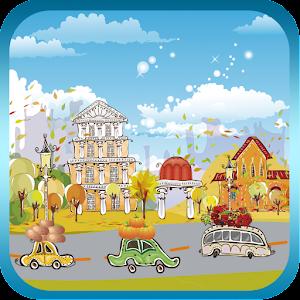 金秋小鎮免費動態桌布 個人化 App LOGO-硬是要APP