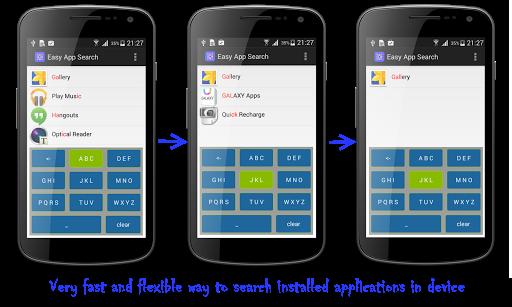 Easy App Search -T9 Predictive
