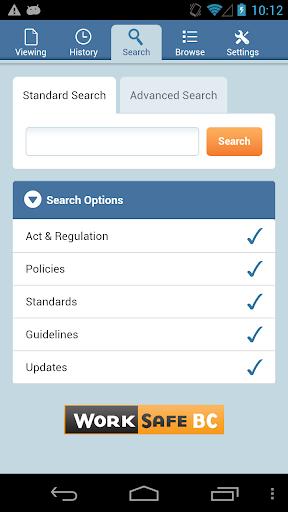 OHS Regulation Mobile App
