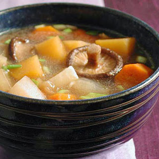 Asian Root Vegetable Stew.