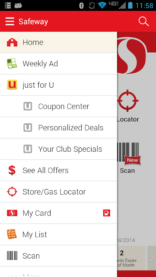Safeway - screenshot