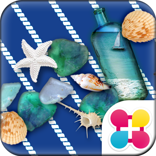 Deep Marine Blue Wallpaper Icon