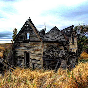 Once Upon a Time by Gary Winterholler - Buildings & Architecture Decaying & Abandoned (  )