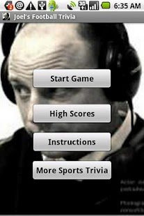 Joel's Football Trivia- screenshot thumbnail