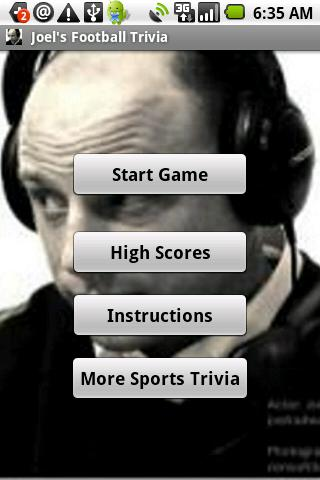 Joel's Football Trivia - screenshot