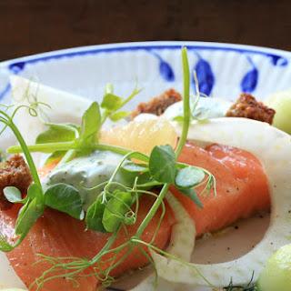 Salted Salmon Danish Recipe.