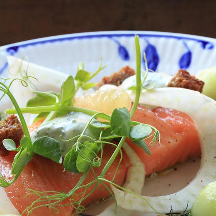 Salted Salmon Danish Recipe