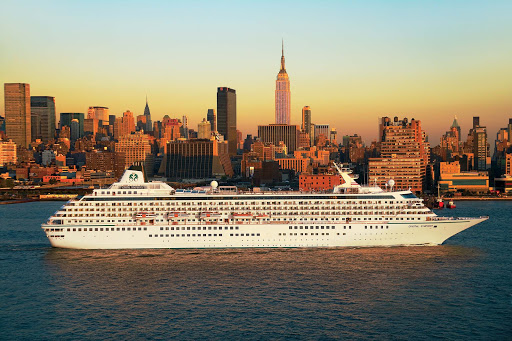 Crystal-Symphony-New-York-City - Take in Manhattan by sunset when you sail aboard Crystal Symphony.