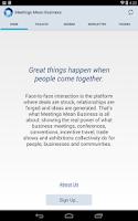 Screenshot of Meetings Mean Business