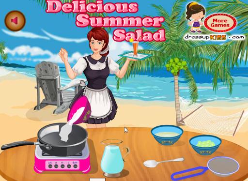 玩休閒App|おいしい夏のサラダ免費|APP試玩