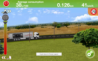 Screenshot of Truck Fuel Eco Driving