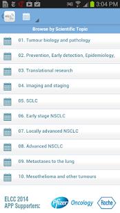European Lung Cancer 2014 - screenshot thumbnail