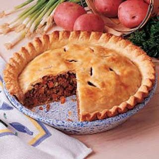 Savory Meat Pie.