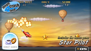 Screenshot of Jungle Crash Land