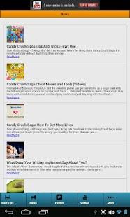 Candy game Tips and Cheats' - screenshot thumbnail