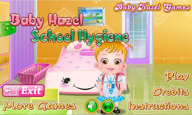 Baby Hazel School Hygiene- screenshot