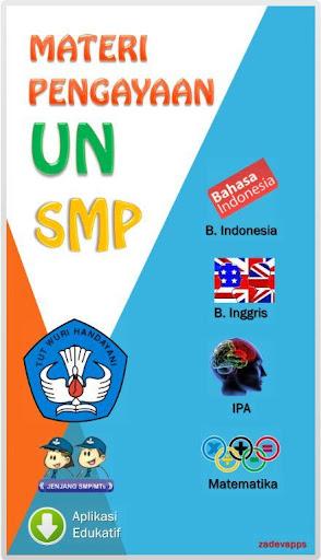Materi Pengayaan UN SMP