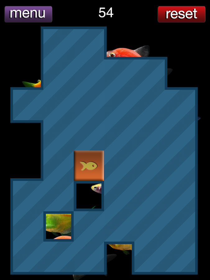 GloFish® Puzzle Game- screenshot