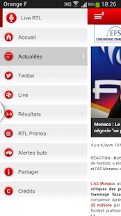 RTL Football - screenshot thumbnail