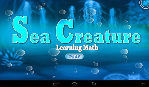 Sea Creature - Maths