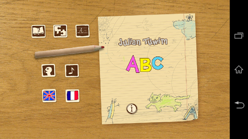My First ABC. Word Games En-Fr