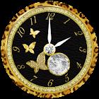 月と太陽の占い時計 -cool- icon