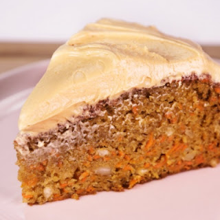 Carrot, Hazelnut, and Ginger Cake.