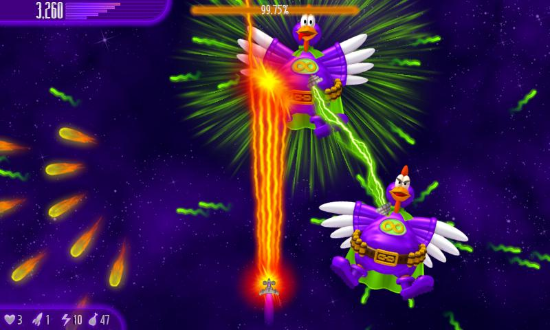 Chicken Invaders 4- screenshot
