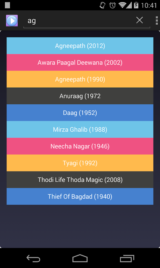 Watch Bollywood Movies(New) - screenshot