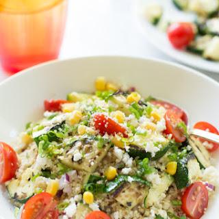 Zucchini Couscous Salad.