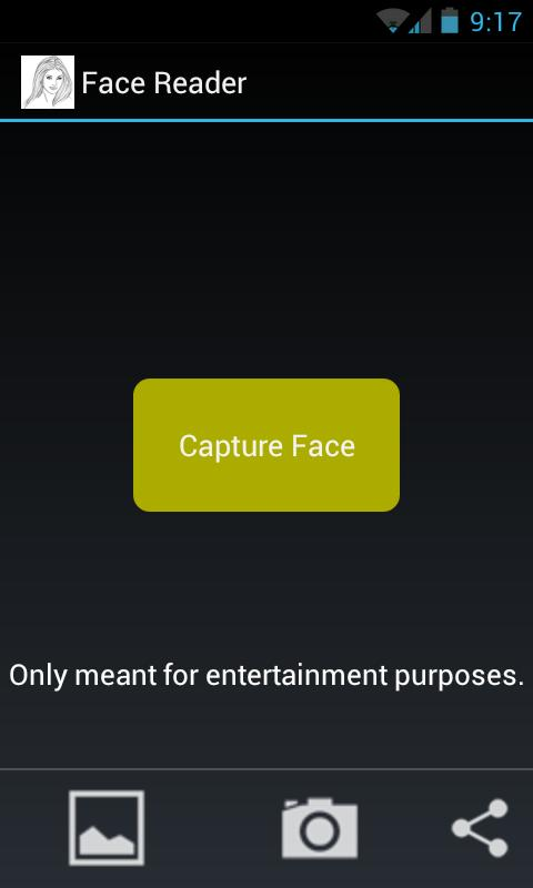 FaceReader - screenshot