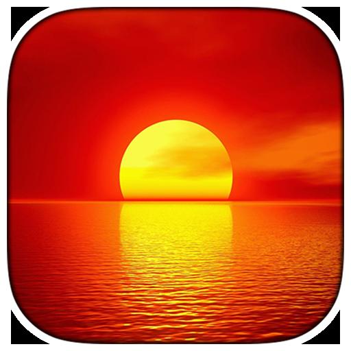 個人化必備App|Sunset Live Wallpaper LOGO-綠色工廠好玩App