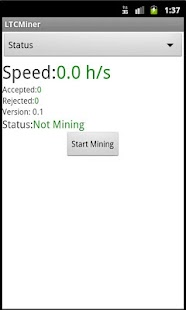 LTCMiner - screenshot thumbnail