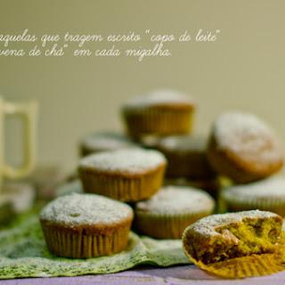 Zucchini, Ginger, and Lemon Muffins..
