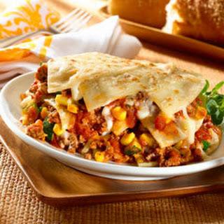 Mexican Lasagna.