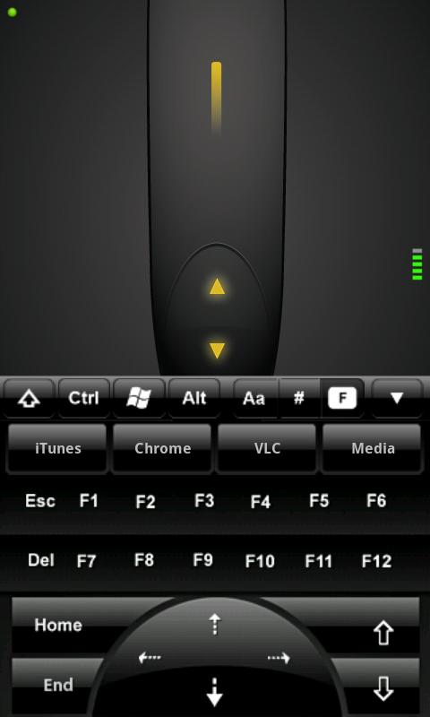 Mobile Mouse Pro- screenshot