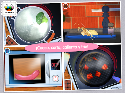 Toca Kitchen: miniatura de captura de pantalla