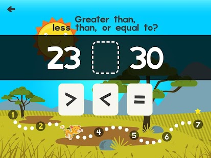 Animal Math First Grade Math Games for 1st Grade- screenshot thumbnail