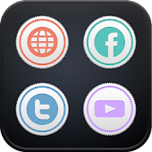 Crown Sticker icon theme