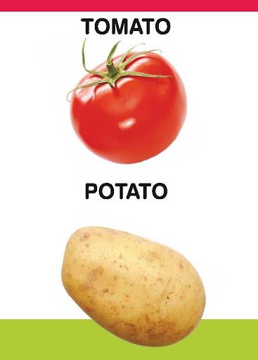 PreSchool Book - Vegetables