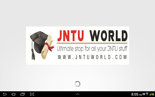 JNTU WORLD - screenshot thumbnail